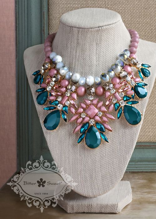 Fashion statement necklace by Bitter Sweet Jewellery.