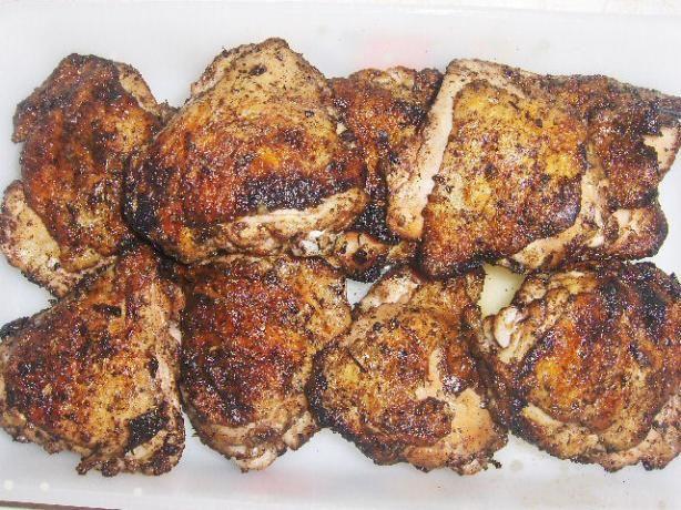 Jamaican Jerk Chicken. Photo by daisygrl64