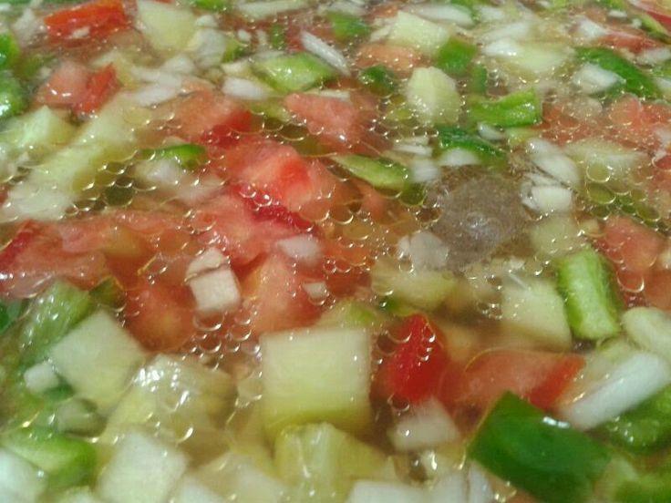 Malaga Gazpacho Recipe — Dishmaps