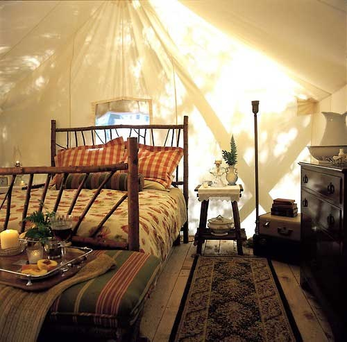 rustic tent bedroom my style pinterest