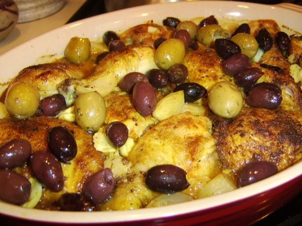 Chicken With Olives, Caramelized Onions, and Sage Recipe - Food.com