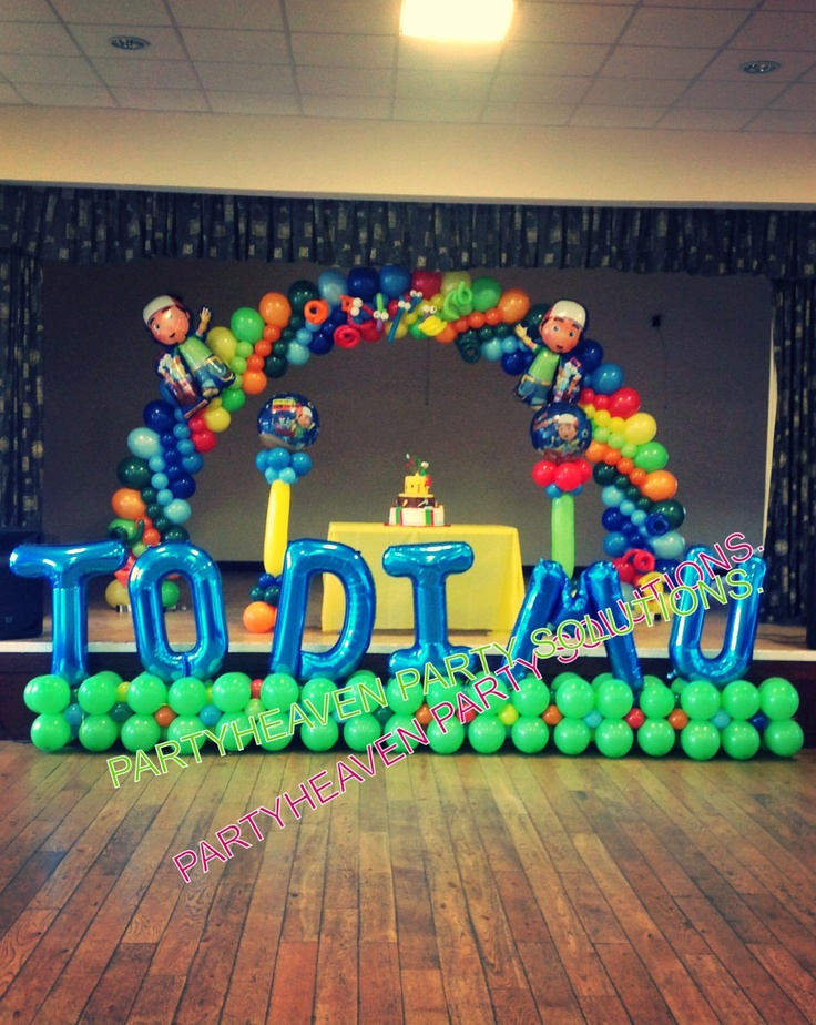 Pin by enelida zelaznog on party ideas pinterest for Handy manny decorations