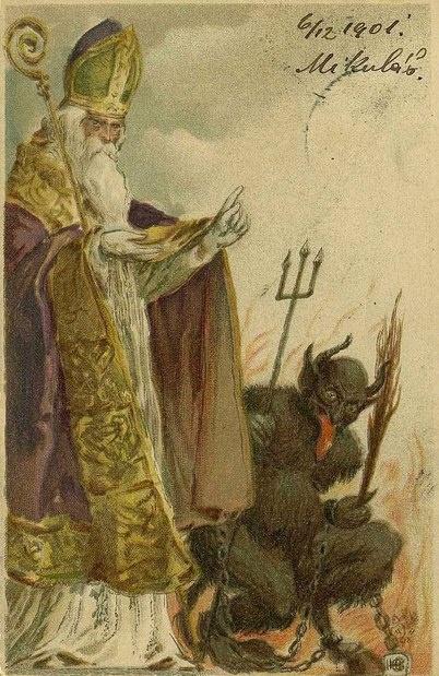 Gruss vom Krampus und vom Nikolaus! | Gruss vom Krampus | Pinterest