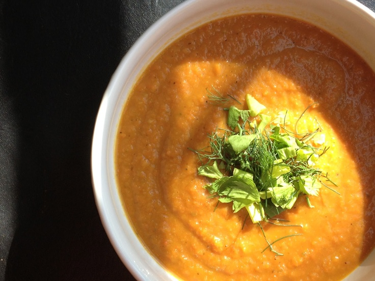 Carrot And Fennel Soup Recipe — Dishmaps