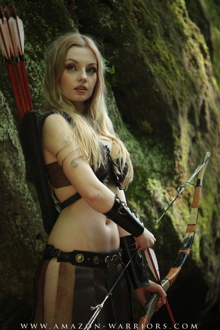 Naked female elf warrior xxx picture
