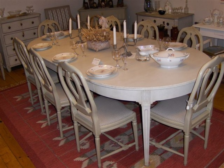 dining table antique gustavian dining table