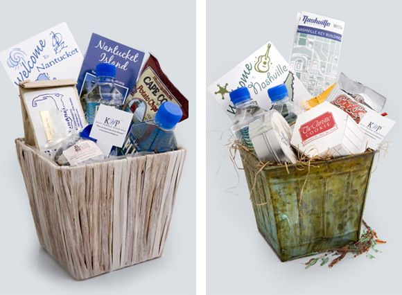 Wedding Gift Basket Ideas For Guests : Gift Baskets