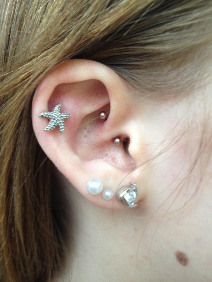 A Beautiful Daith Piercing Jewelry Pinterest