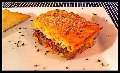 Pastitsio (Greek Lasagna) With Greens Recipe — Dishmaps