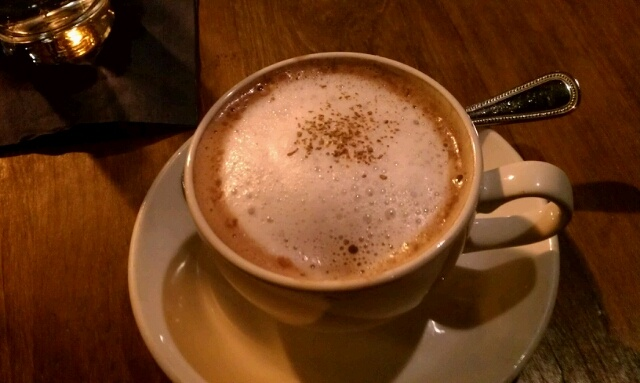 Chocolate Mescaleros - Mexican hot chocolate with Mezcal in ...