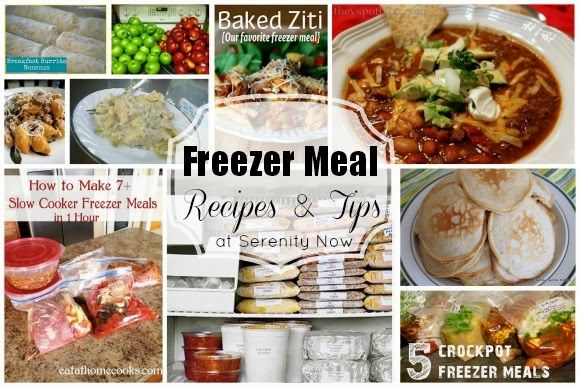 Freezer meal recipes and tips a round up at serenity now
