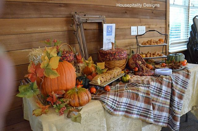 Fall Buffet Table Fall Pinterest