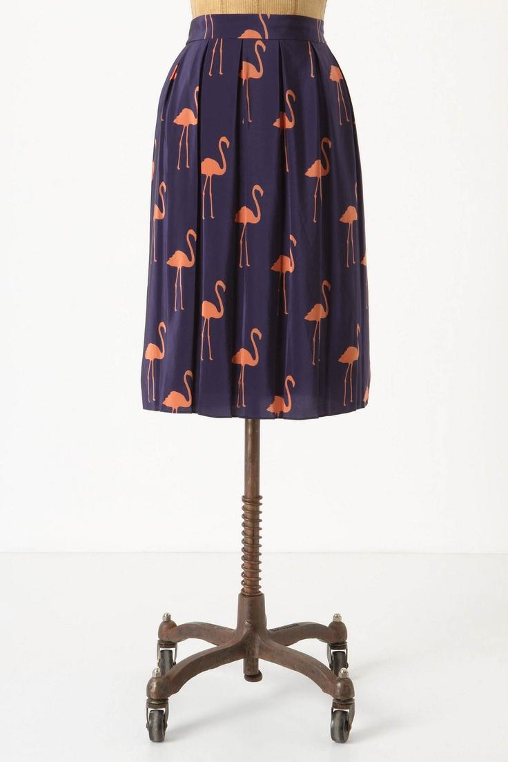 flamingo skirt!