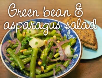 ... bean and wax bean salad recipes asparagus green bean and wax bean