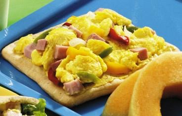 Denver Scrambled Egg Pizza Recipe | Recipes | Pinterest