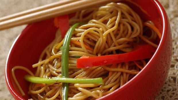 Vegetable Lo Mein... looks soo good