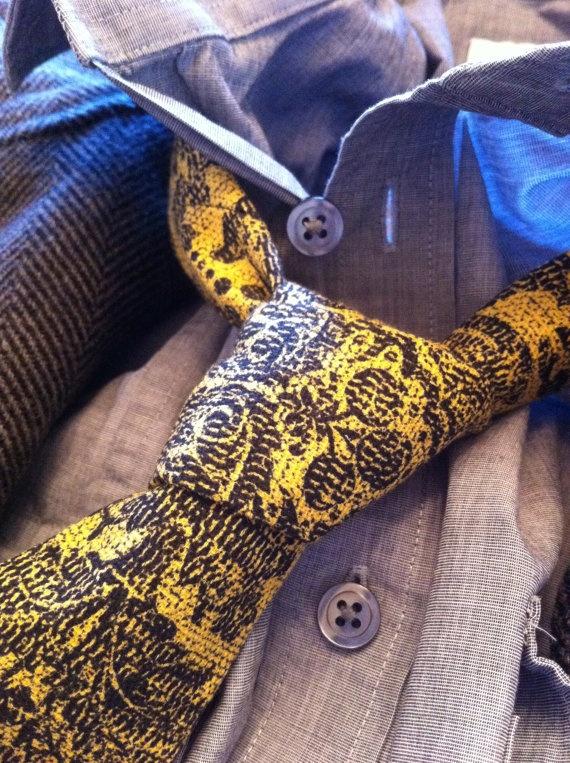 "Designer Tie - ""Laissez Faire"" - $29  www.etsy.com/shop/ChasenHunter"