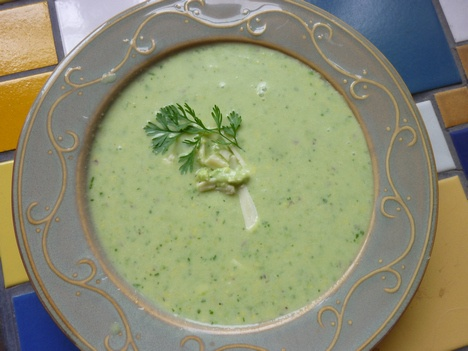 Weekday Vegetarian: Chilled Guacamole Soup- interesting