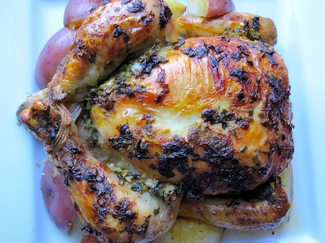 Pollo Asado (Colombian Roasted Chicken) from mycolombianrecipes.com ...