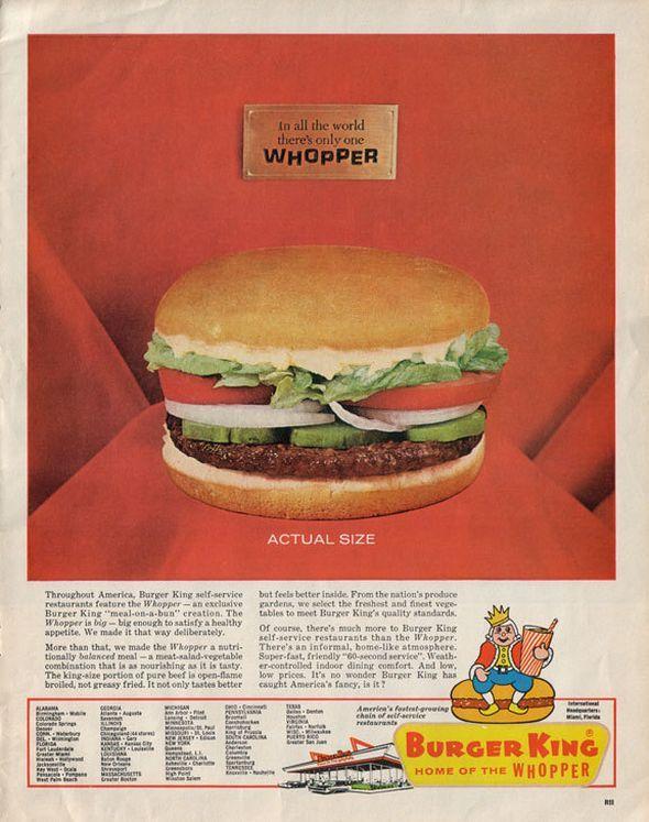 vintage fast food ads vintage ads pinterest