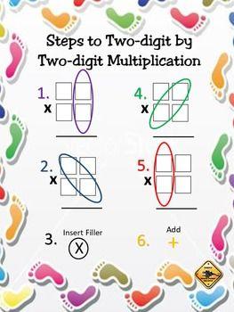Matelic - Image - 2 digit multiplication steps