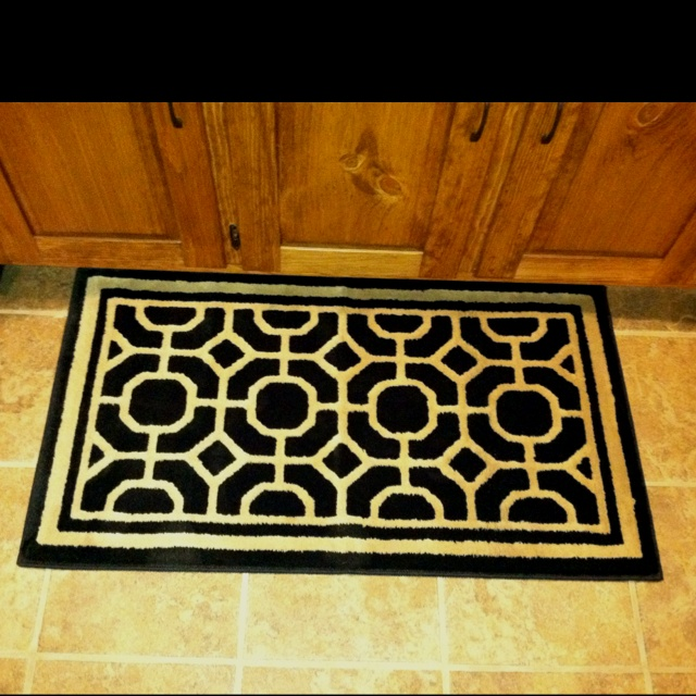 new kitchen area rug decor pinterest