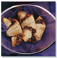 """Cherry, chocolate chip, and walnut Rugelaches """"These Rugelach cookies ..."""