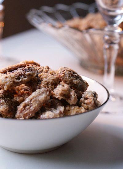 Sugar Coated Pecans | Finger foods | Pinterest