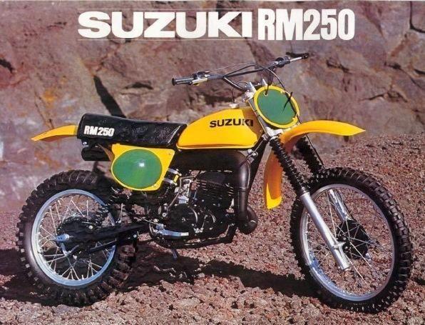 vintage suzuki bikes