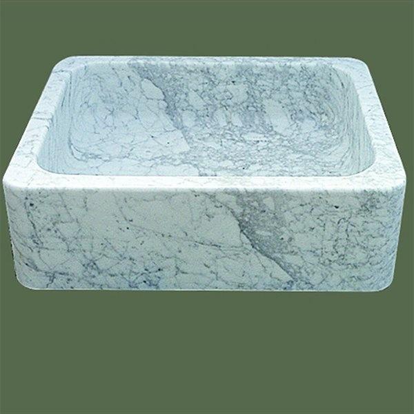 White Granite Farmhouse sink apron kitchen sink Pinterest