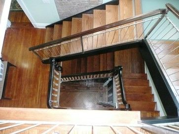 Victorian interior stair victorian traditional staircase new