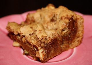Hazelnut-Chocolate Chip Blondies | Food | Pinterest