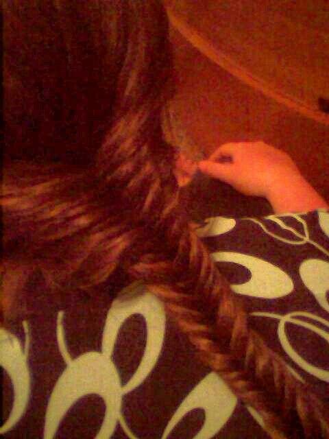 Fishtail braid :-) | Apostolic Hairstyles | Pinterest