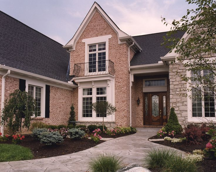 Pin by joyce sutterer on for the home pinterest for Brick stone combinations
