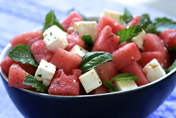 watermelon salad | watermelon | Pinterest