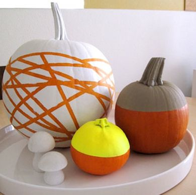 Painted Pumpkins - 13 Easy DIY No-Carve Pumpkins - Bob Vila