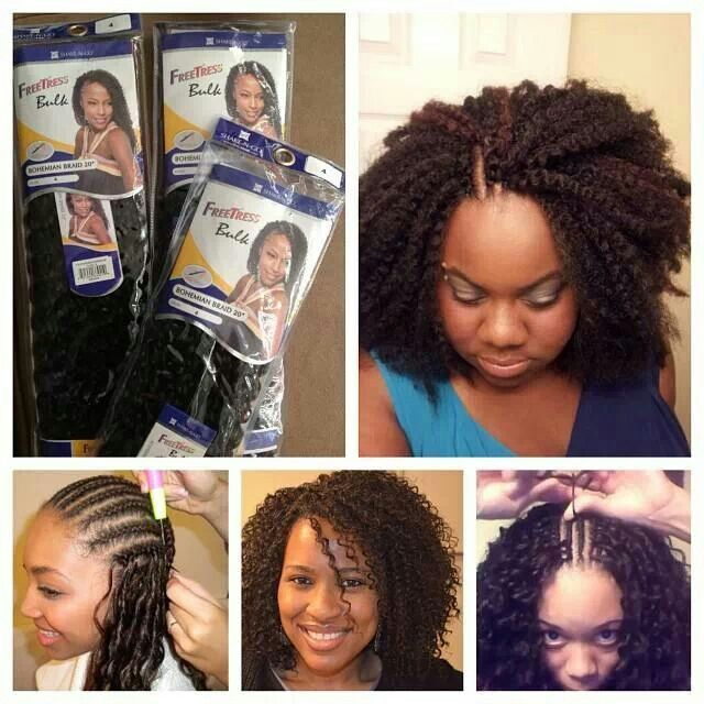 Crochet Braids Protective Style Natural Hair