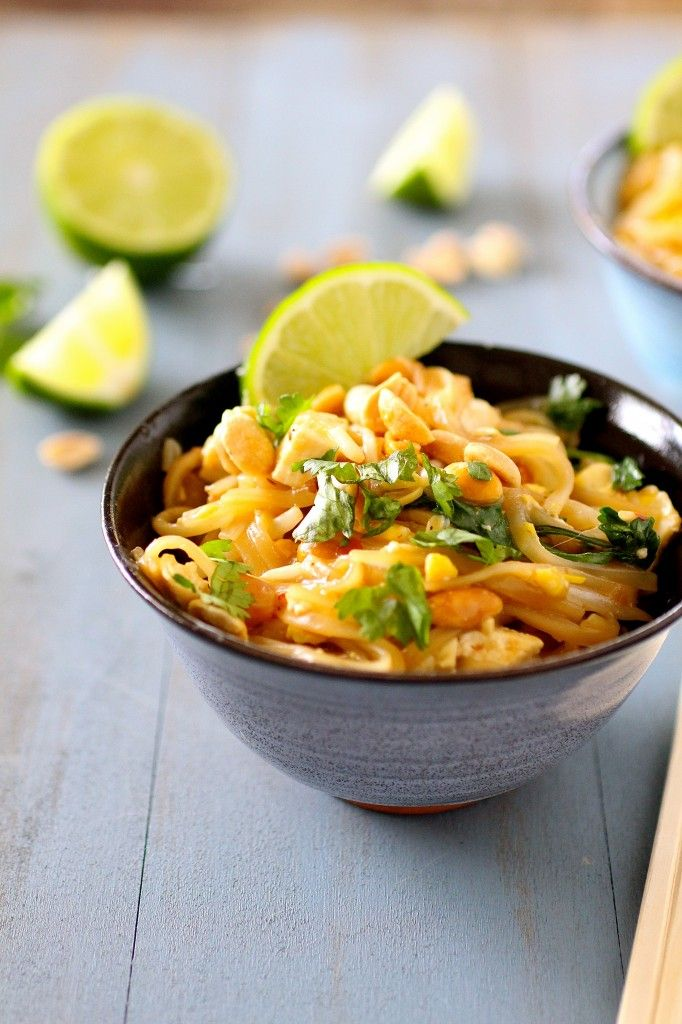 Classic Pad Thai | The Curvy Carrot Classic Pad Thai | Healthy and ...