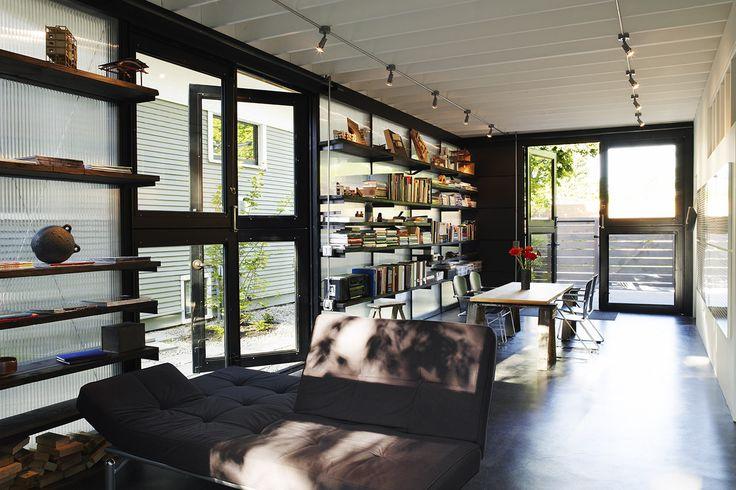 Modern garage studio google search garage build for Garage con studio