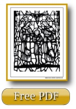 Bible Coloring Pages - The Holy Family - Jesus, Mary, and Joseph