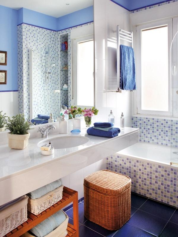 decoracao tudo branco:Branco na decoração de banheiros