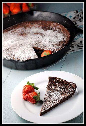Chocolate dutch baby | Recipes: Dessert | Pinterest