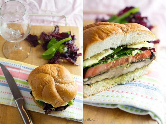 Grilled Portobello Mushroom Burger | Meatless Mondays | Pinterest