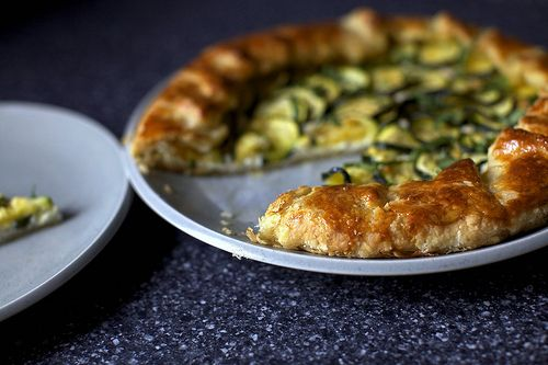 "favorite blogs, Smitten Kitchen, with a ""zucchini and ricotta galette ..."