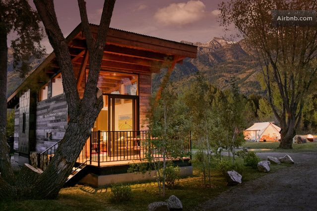 Fireside cabin jackson hole for Cabin rentals in jackson hole wy