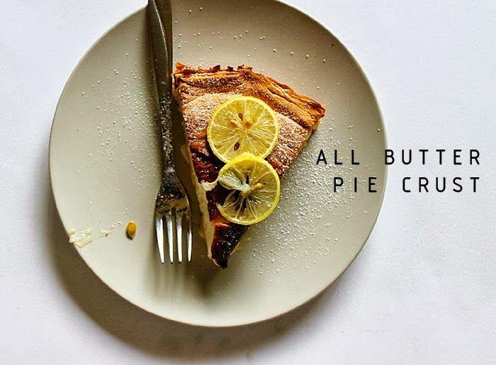 All Butter Pie Crust | Food♥ | Pinterest