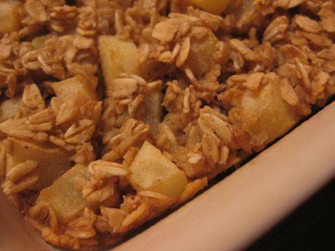 Baked Apple Pie Oats | Boats Of Oats | Pinterest