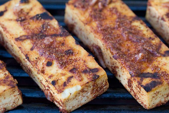 High Protein Recipes... Lemon Achiote Grilled Tofu Recipe