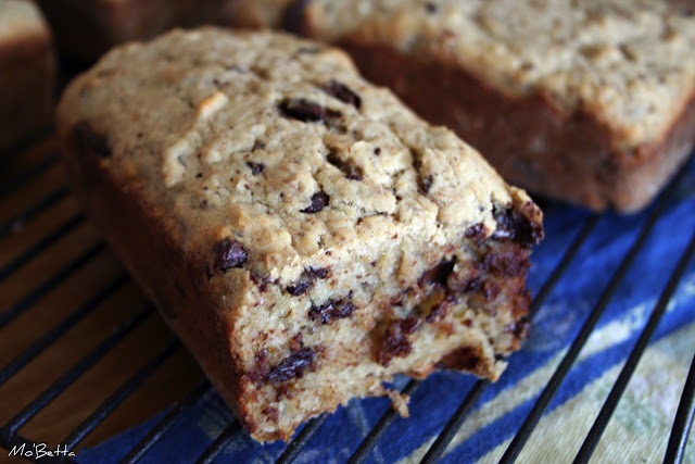 Chocolate Bourbon-Spiked Banana Bread | Desserts | Pinterest