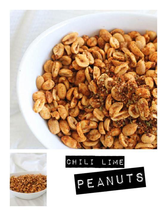 Chile-Lime Peanuts Recipe — Dishmaps